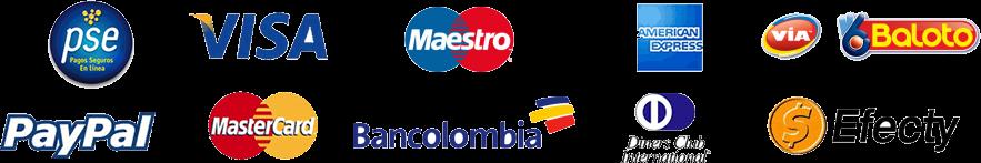 Resultado de imagen para medios de pagos colombia